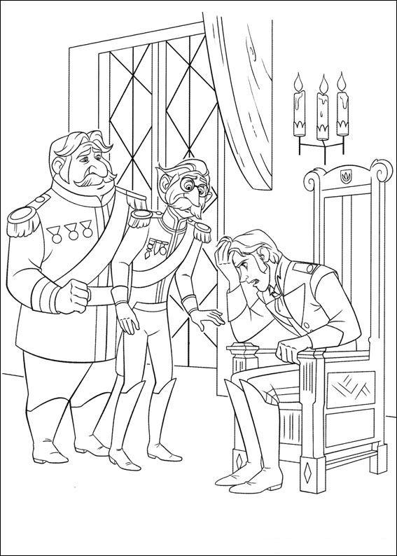 Kids N Fun Coloring Pages Frozen : Kids n fun coloring page frozen