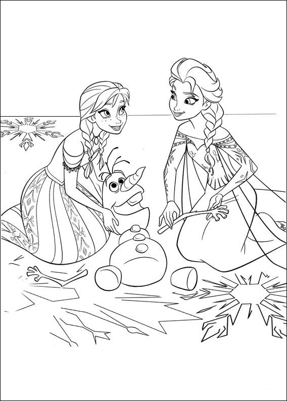 Uitzonderlijk Kids-n-fun.com | 35 coloring pages of Frozen @HA07