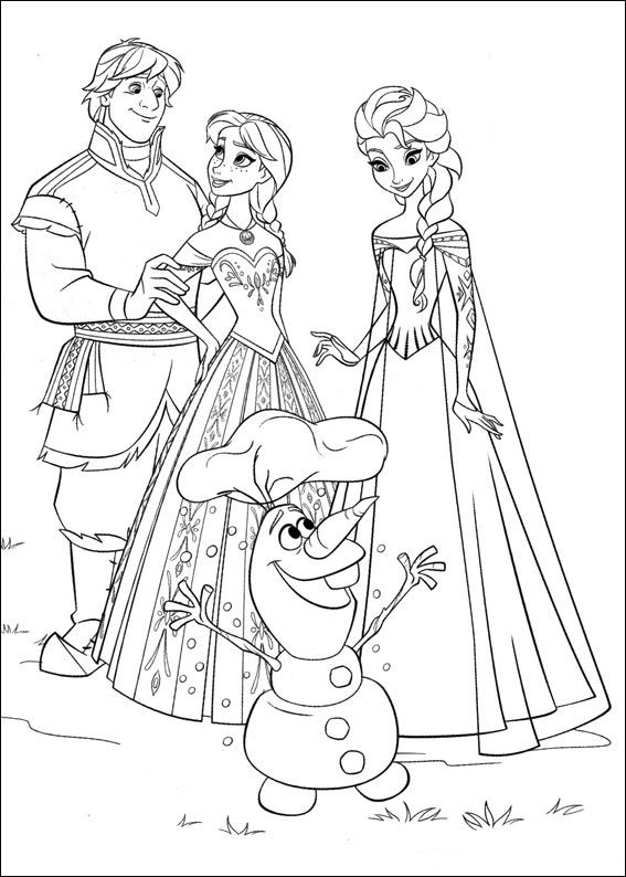 Genoeg Kids-n-fun.com | 35 coloring pages of Frozen @LZ77