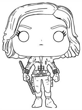 kidsnfun  13 coloring pages of funko pops marvel