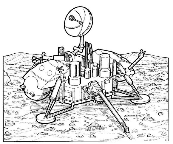 Kids N Fun Com 29 Coloring Pages Of Space Travel History