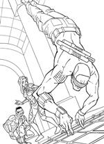 Kids-n-fun | 44 coloring pages of G.I. Joe