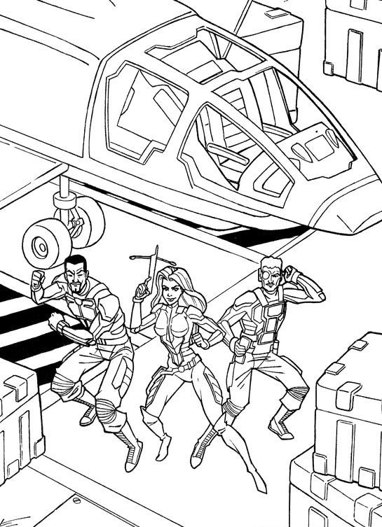 44 gi joe coloring pages