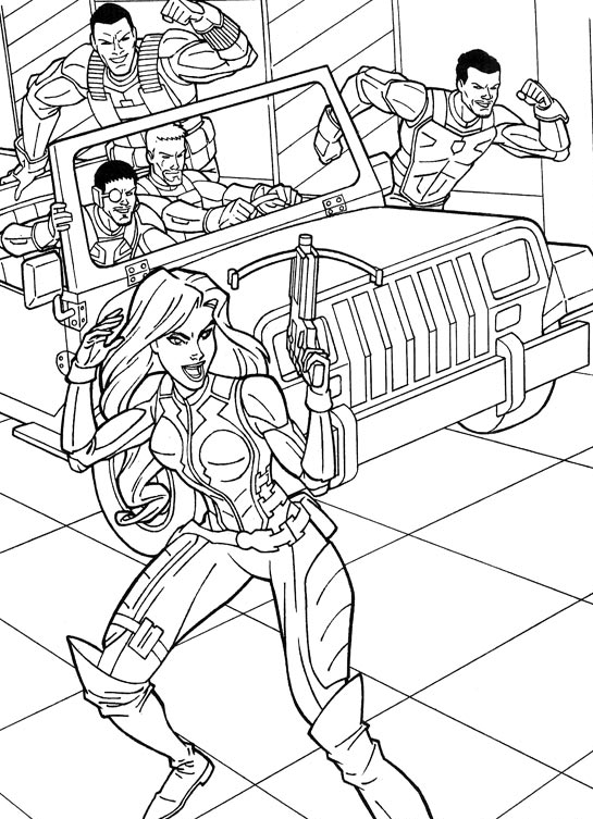 g i jow coloring pages - photo#21
