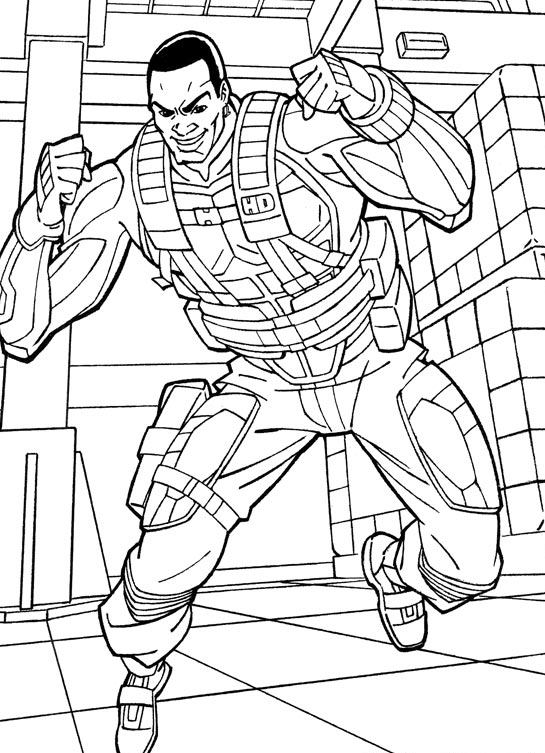 Kids-n-fun.com | 44 coloring pages of G.I. Joe A Coloring Page
