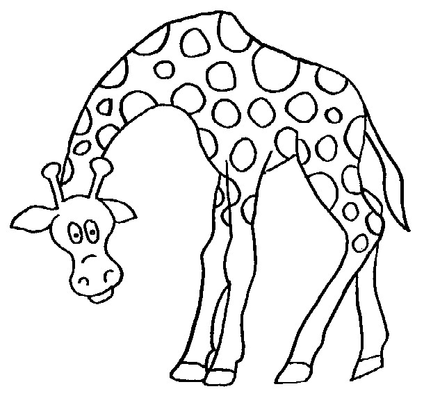 Kids-n-fun.co.uk | 45 coloring pages of Giraffe