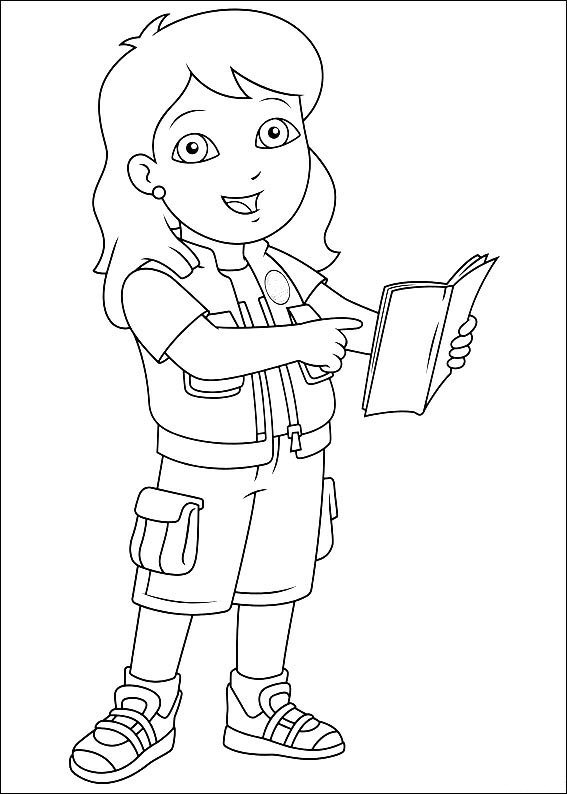 Kidsnfuncom 41 coloring pages of Diego Go Diego Go