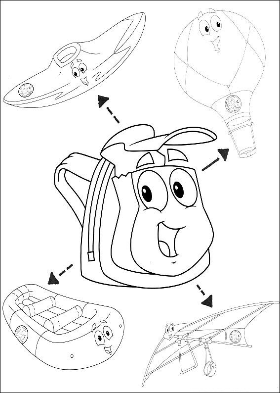 kids n fun com 41 coloring pages of diego go diego go