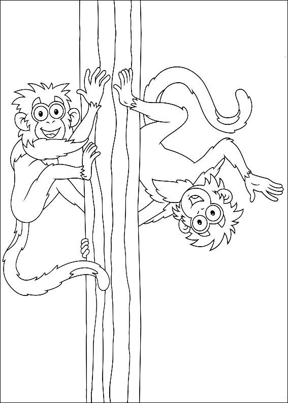 Kids-n-fun.com | 41 coloring pages of Diego, Go Diego Go