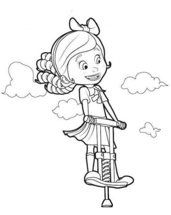 Kids-n-fun.com | 9 coloring pages of Goldie and Bear
