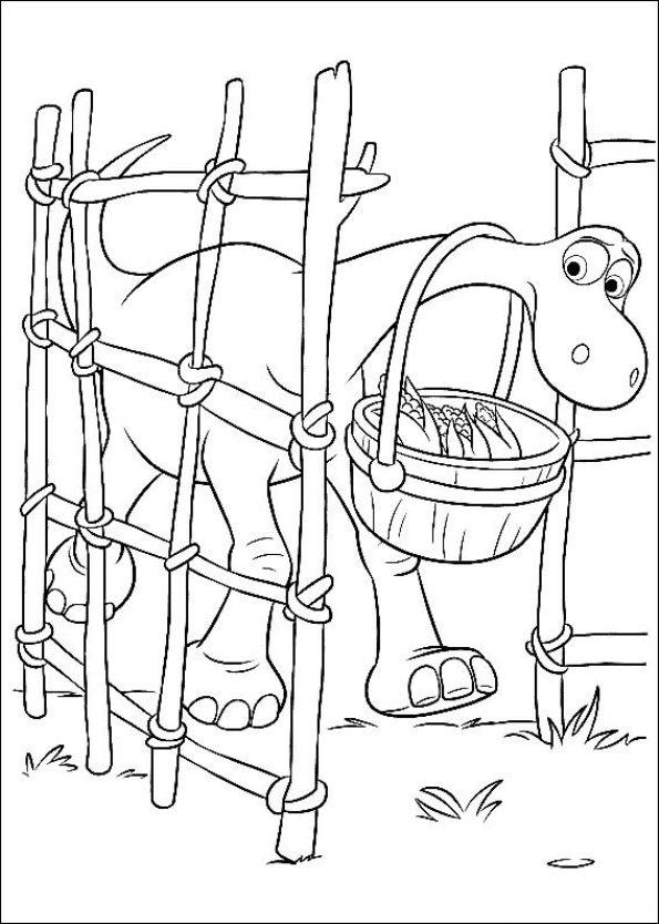 Kids-n-fun.com   25 coloring pages of Good Dinosaur