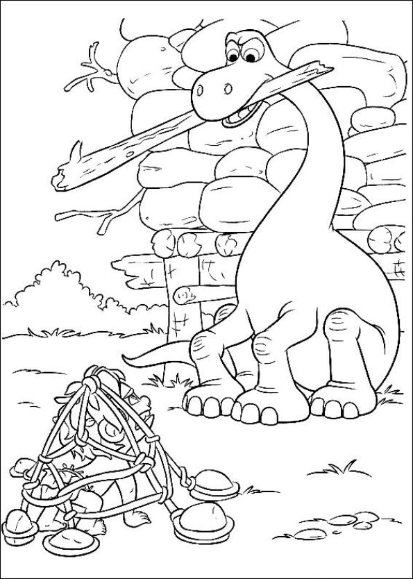 the good dinosaur coloring pages - photo#19