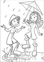coloring page Groovy Girls