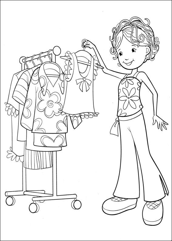 Printable groovy girls coloring pages ~ Kids-n-fun.com | 65 coloring pages of Groovy Girls