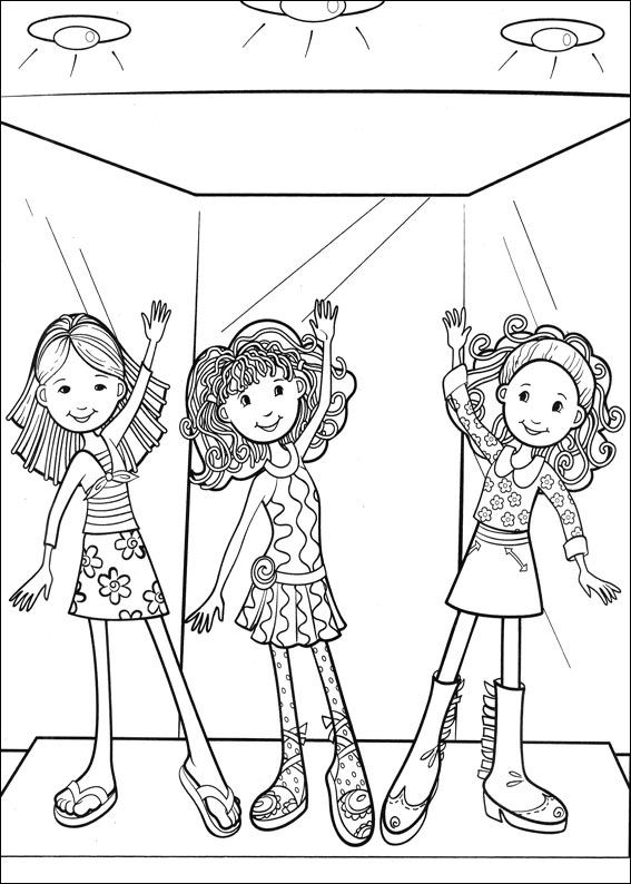 Kids-n-fun.com   65 coloring pages of Groovy Girls