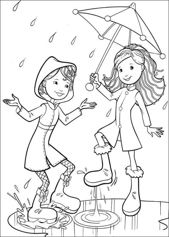 printable groovy girls coloring pages - photo#11