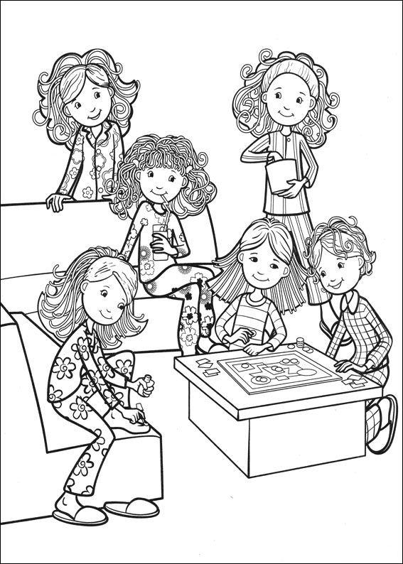 Verjaardag 65 Jaar Kleurplaat Kids N Fun Com 65 Coloring Pages Of Groovy Girls