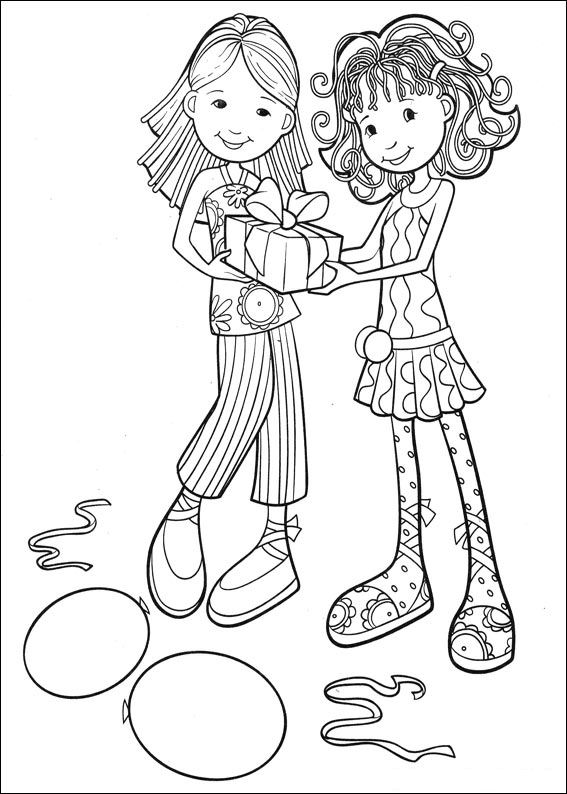 groovy girls coloring pages-#24