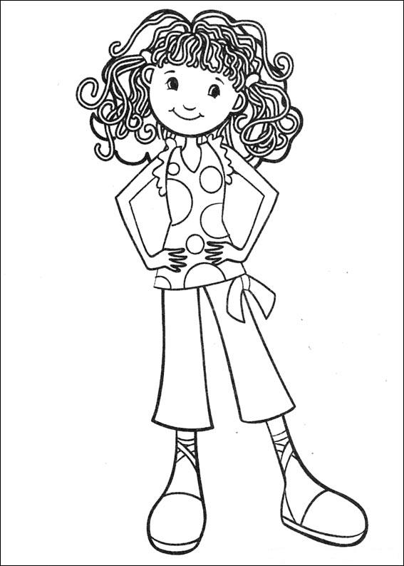 Kids-n-fun.com | All coloring pages about Girls