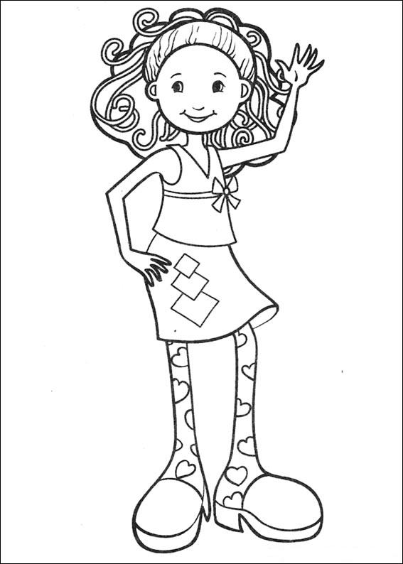 65 groovy girls coloring pages
