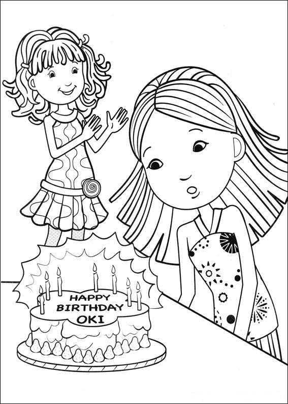 Verjaardags Kleurplaat Cars Kids N Fun Com 77 Coloring Pages Of Birthday
