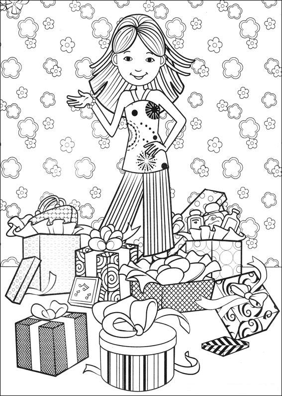 Kids N Fun Com 77 Coloring Pages Of Birthday