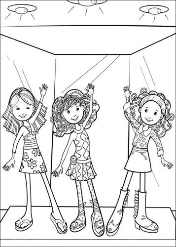 Groovy Girls 32 Coloring Page - Free Groovy Girls Coloring Pages ... | 500x357