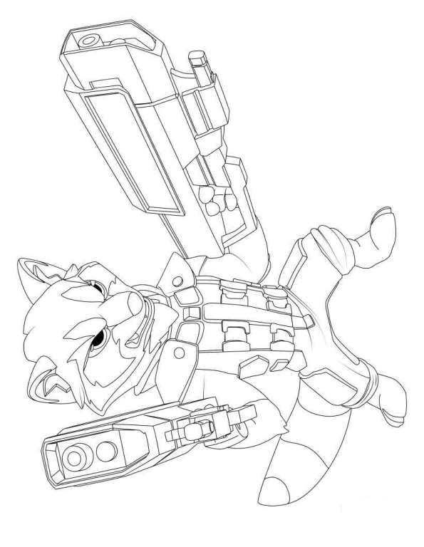 Kids-n-fun.com | 40 coloring pages of Guardians of the Galaxy