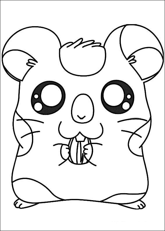 Kids-n-fun.co.uk | 32 coloring pages of Hamtaro