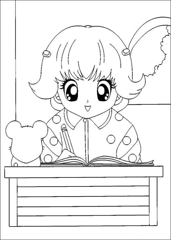 Kids N Fun Com 32 Coloring Pages Of Hamtaro