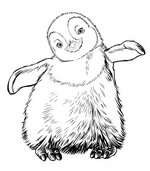 coloring page Happy Feet