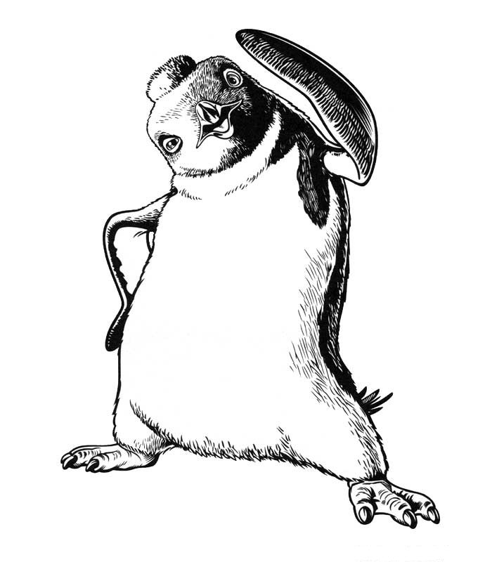 Happy feet 2 coloring pages | Free Coloring Pages | 800x700