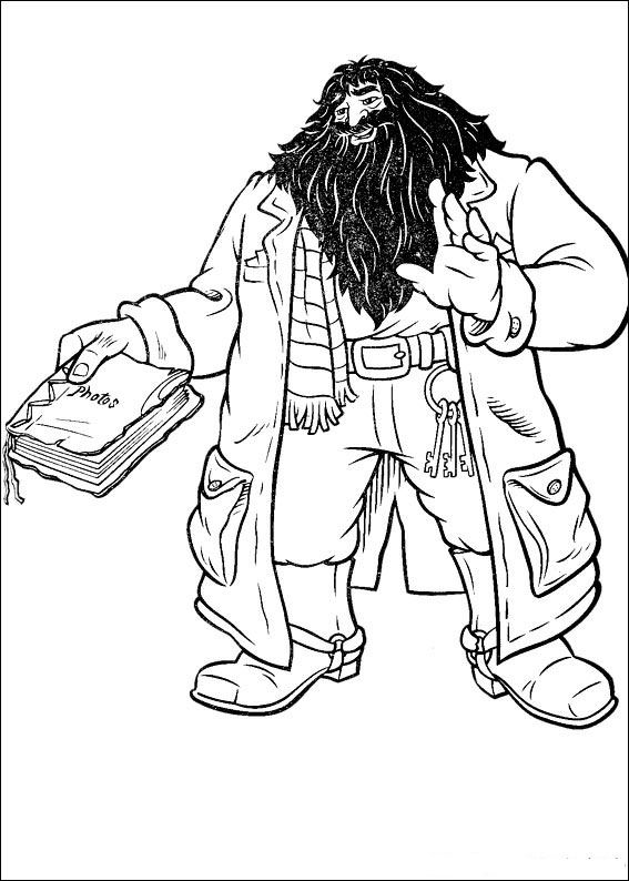 Kidsnfun Coloring page Harry Potter Harry Potter