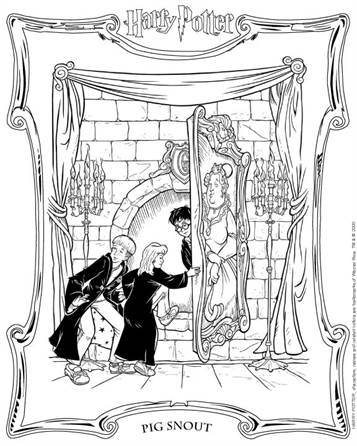 Kids N Fun Com 89 Coloring Pages Of Harry Potter