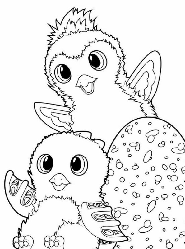 - Kids-n-fun.com Coloring Page Hatchimals Hatchimals 02