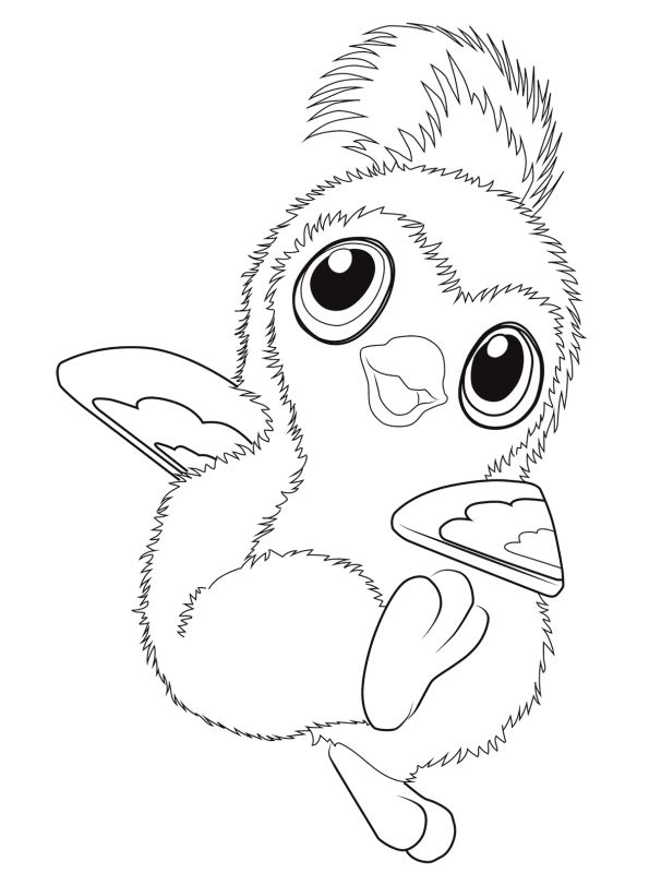 - Kids-n-fun.com Coloring Page Hatchimals Hatchimals 04
