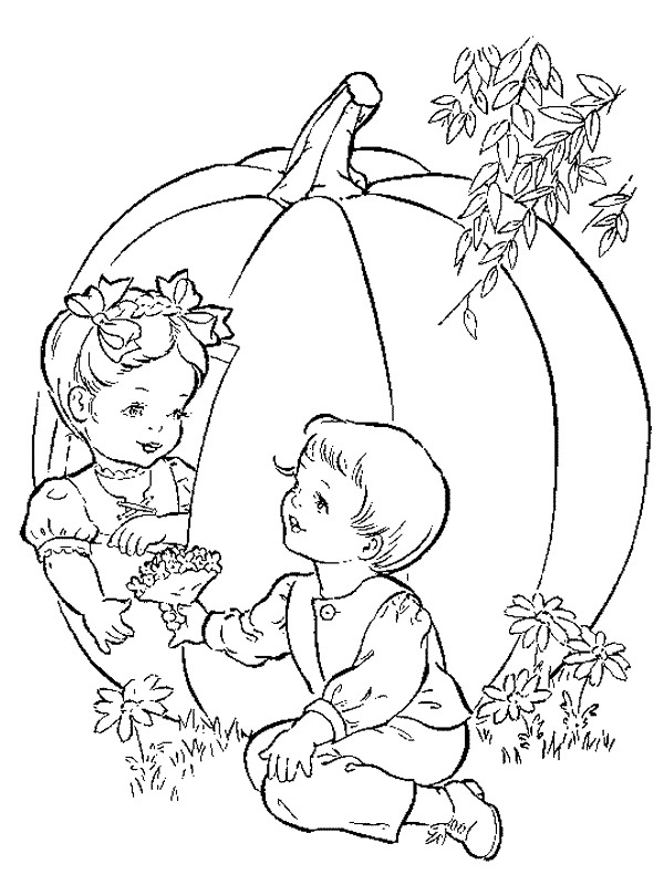 Coloring Pages Kids N Fun : Kids n fun coloring page autumn
