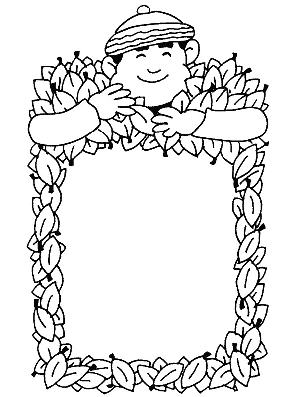 Kids N Fun Com 48 Coloring Pages Of Autumn