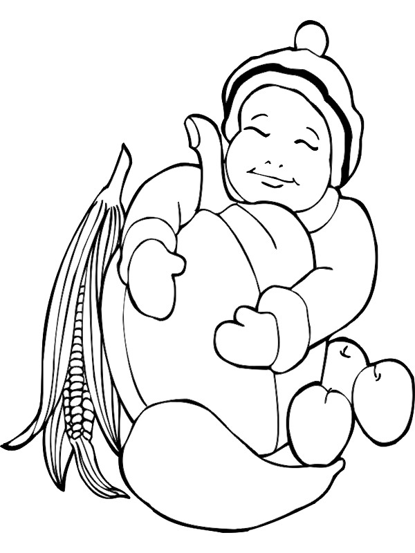 Kids-n-fun.com | 48 coloring pages of Autumn