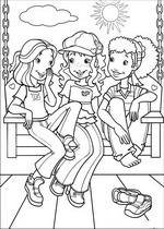 coloring page Holly Hobbie