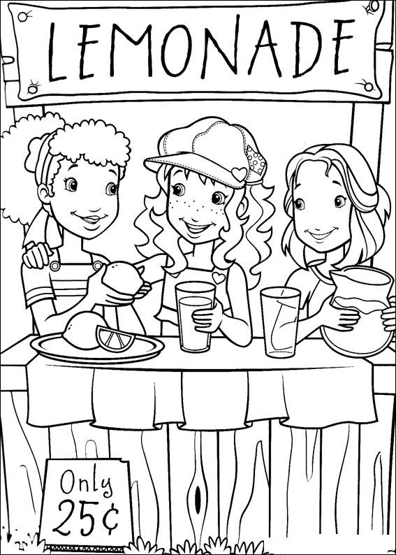Kids N Fun Com 52 Coloring Pages Of Holly Hobbie