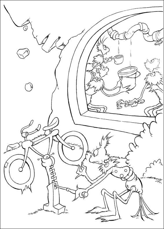 dr seuss abc coloring pages - photo#27