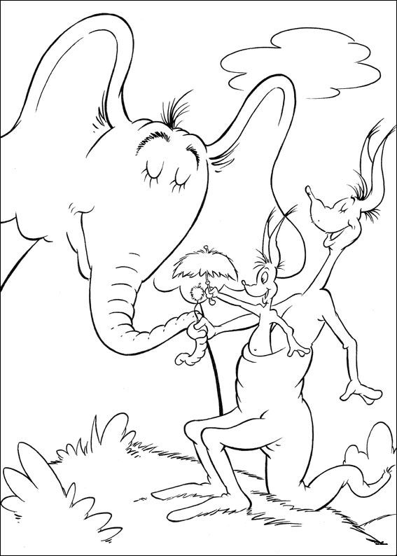 dr seuss abc coloring pages - photo#30