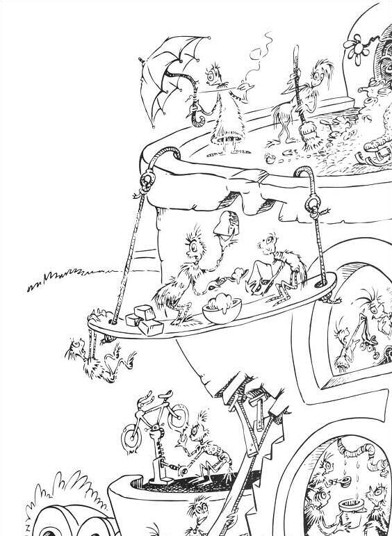 dr seuss abc coloring pages - photo#18