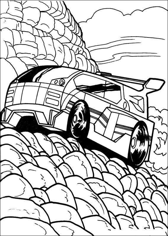 41 hot wheels coloring pages