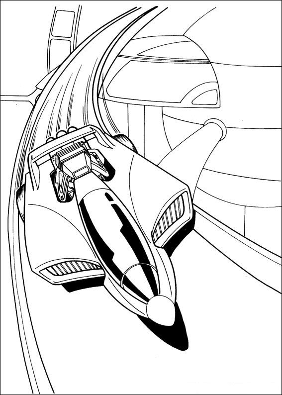 Kidsnfuncom  41 coloring pages of Hot Wheels
