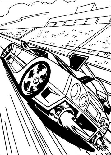Kids N Fun Co Uk 41 Coloring Pages Of Hot Wheels