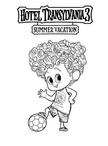 Kids N Fun Com 13 Coloring Pages Of Hotel Transylvania 3