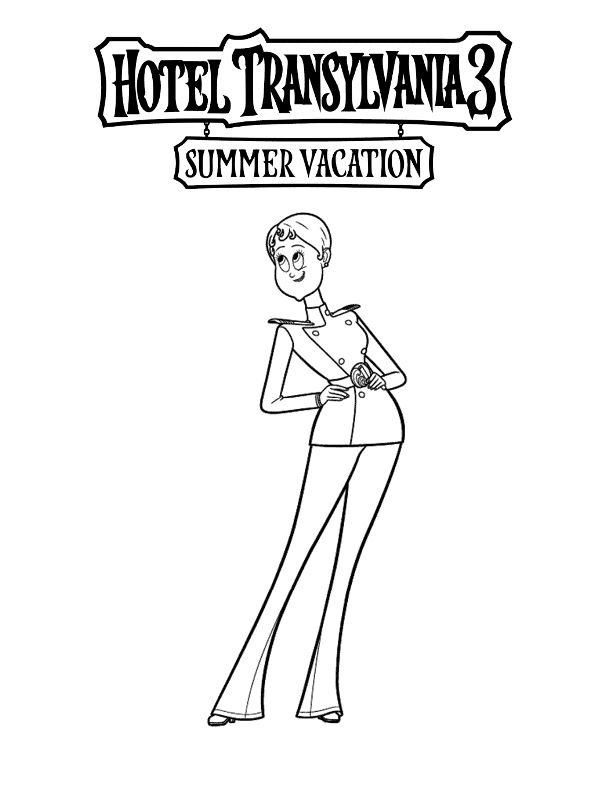 Kids N Fun Com 13 Coloring Pages Of Hotel Transylvania 3 Summer