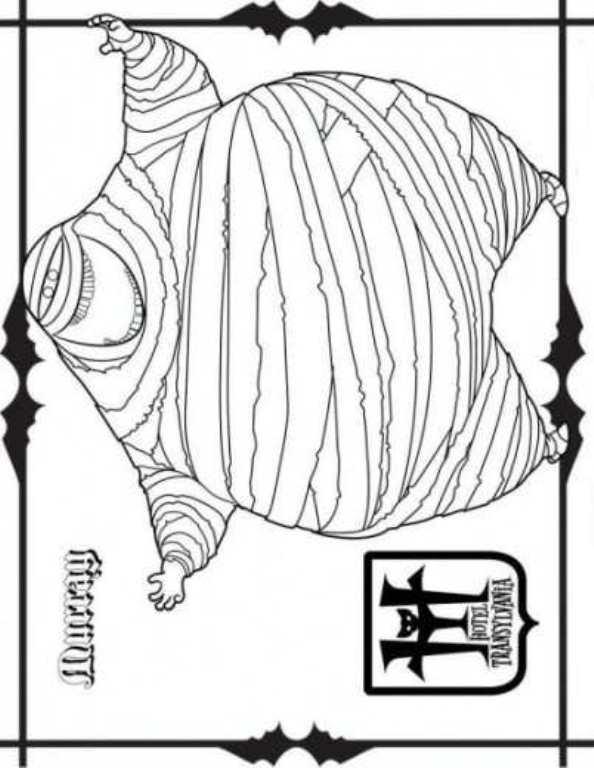 Kids N Fun Com 22 Coloring Pages Of Hotel Transylvania